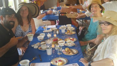High Tea 2016 table Kate Banick Suzie