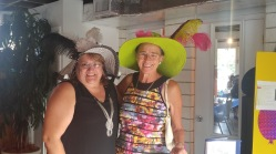 High Tea hat parade 2016