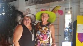 High Tea hat parade 2016