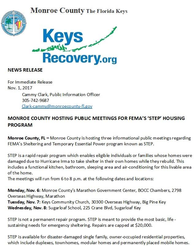 STEP Monroe County 2017