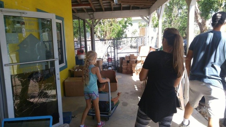 Recovery donations to the Upper Keys