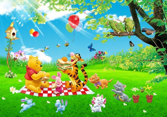 tigger and friends spring